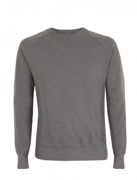 Raglan Sweatshirt, Dark Heather, front