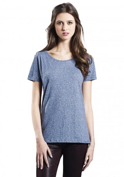 Blue Twist, Special Yarn Effect, Classic T-Shirt Women